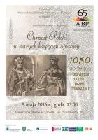 Chrzest Polski w starych księgach opisany