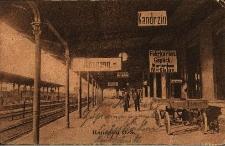 Kędzierzyn-Koźle : dworzec kolejowy - peron pierwszy