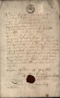 Świadectwo czeladnicze wydane przez Cech Garbarzy na nazwisko Robert Scholtz