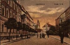 Kędzierzyn-Koźle : widok na ulicę Dworcową