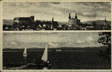 Otmuchów : panorama miasta, Jezioro Otmuchowskie