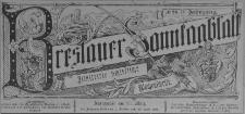 Breslauer Sonntagblatt : Illustrierte Schlesische Wochenschrift 1885, Jg. 4, No. 41