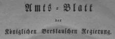 Amtsblatt der Königlichen Breslauschen Regierung. Stück 22