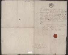 Metryka: Fryderyk Jan Józef ur. 22.09.1804 r. w Prudniku