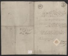 Metryka: Jan Franciszek Leo Flagel ur. 2.02.1794 r.