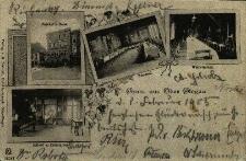 Głogówek : Koschel's Hotel i jego wnętrze