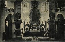 Głubczyce : wnętrze klasztoru O.O. Franciszkanów