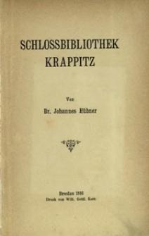 Schlossbibliothek Krappitz