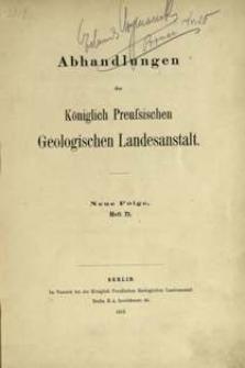 Die Geologie des oberschlesischen Steinkohlenbezirkes