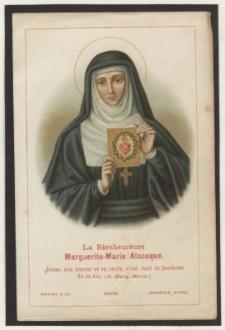 La Bienheureuse Marguerite-Marie Alacoque
