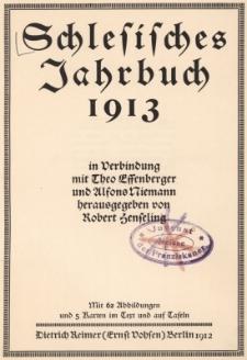 Schlesisches Jahrbuch 1913