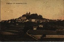 Góra Świętej Anny : widok m.in. na klasztor