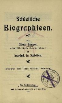 Schlesische Biographien