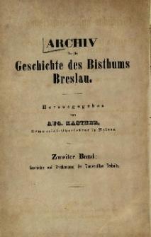 Geschichte und Beschreibung des fürstlichen jungfräulichen Klosterstiftes Ordens in Trebnitz 1655