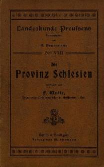 Die Provinz Schlesien