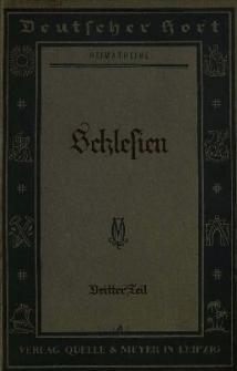 Deutscher Hort : Kulturkundliches Lesebuch für deutsche Schulen in Einzelheften. Tl. 3