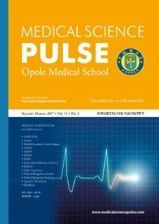 Medical Science Pulse, 2017, No. 1 (11)