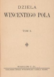 Dzieła Wincentego Pola. T. 2