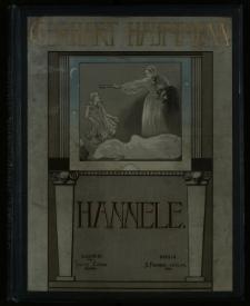 Hannele : Traumdichtung in zwei Teilen
