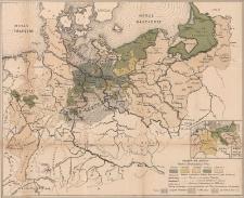 Mapa historycznego rozwoju Brandenburgji-Prus od roku 1415