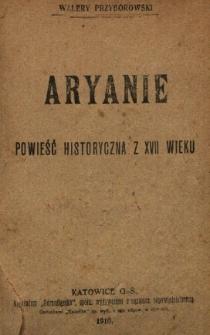 Aryanie : powieść historyczna z XVII wieku