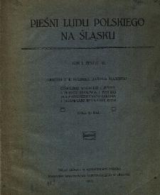 Pieśni ludu polskiego na Śląsku. T. 1, z. 3