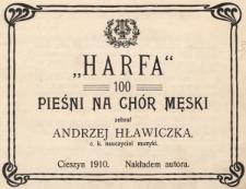 """""""Harfa"""" : 100 pieśni na chór męski"""