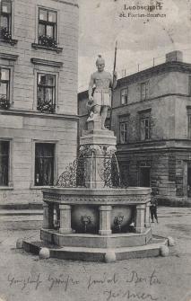 Leobschütz : St. Florian-Brunnen