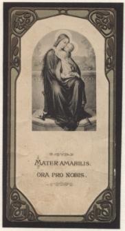 Mater Amabilis ora pro nobis