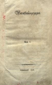 Parafiańszczyzna T. 1