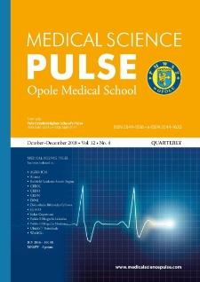 Medical Science Pulse, 2018, No. 4 (12)