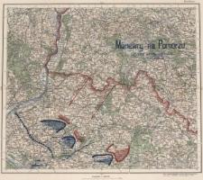 Manewry na Pomorzu : Sytuacja strony niebieskiej 17 VIII o godz. 20