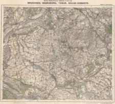 Obszar manewrów na Pomorzu w roku 1925 : Grudziądz, Wąbrzeżno, Toruń, Gołub-Dobrzyń