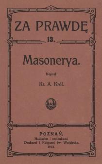 Masonerya