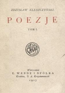 Poezje. T.1