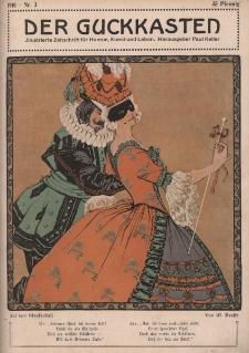 Der Guckkasten : illustrierte Zeitschrift für Humor, Kunst und Leben, 1910, Nr 3