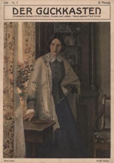 Der Guckkasten : illustrierte Zeitschrift für Humor, Kunst und Leben, 1910, Nr 5
