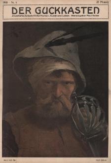 Der Guckkasten : illustrierte Zeitschrift für Humor, Kunst und Leben, 1910, Nr 6