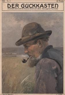 Der Guckkasten : illustrierte Zeitschrift für Humor, Kunst und Leben, 1910, Nr 8
