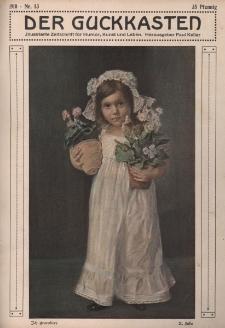 Der Guckkasten : illustrierte Zeitschrift für Humor, Kunst und Leben, 1910, Nr 13
