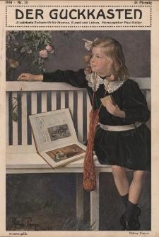 Der Guckkasten : illustrierte Zeitschrift für Humor, Kunst und Leben, 1910, Nr 15
