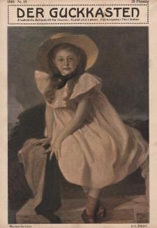 Der Guckkasten : illustrierte Zeitschrift für Humor, Kunst und Leben, 1910, Nr 18
