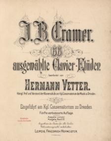 66 ausgewählte Clavier-Etüden