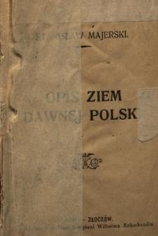 Opis ziem dawnej Polski