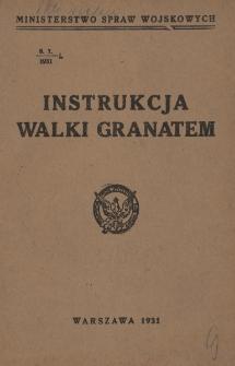 Instrukcja walki granatem