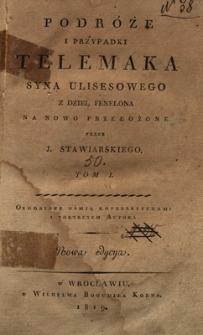 Podróże i przypadki Telemaka syna Ulisesowego. T.1