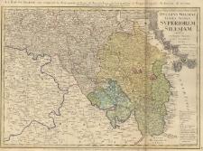 Dvcatvs Silesiae : Tabula Altera Inferiorem Silesivm exhibens ex mappa Hasiana majore desumta et excusa...