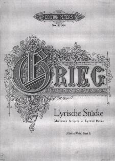 Lyrische Stücke : für Pianoforte