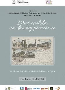 Wieś opolska na dawnej pocztówce. Ze zbiorów Wojewódzkiej Biblioteki Publicznej w Opolu