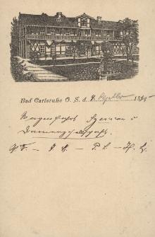 Bad Carlsruhe O. S.